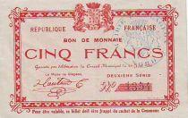 Frankreich 5 F Glageon