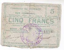 Frankreich 5 F Nomain