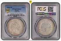 Frankreich 5 Francs Louis-Philippe 1er - 1834 H La Rochelle - PCGS MS 62