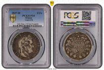 Frankreich 5 Francs Louis-Philippe 1er - 1837 D Lyon - PCGS F 15