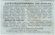 Frankreich 50 Centimes Douai City - 1916