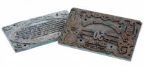 Frankreich 50 Centimes Le-Mans Pair of printing plates