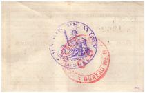 Frankreich 50 Centimes Wimy City - 1915