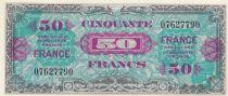 Frankreich 50 Francs 1944 - WWI issue - w/o serial numeral
