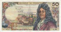 Frankreich 50 Francs Racine - 02-02-1967 Serial N.98