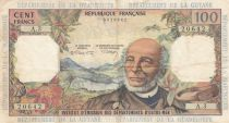 French Antilles 100 Francs Victor Schoelcher - ND (1964) - Serial A.3 - Fine - P.10b