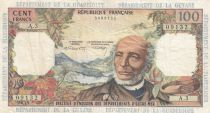 French Antilles 100 Francs Victor Schoelcher - ND (1964) - Serial A.3 - VF - P.10b