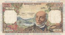 French Antilles 100 Francs Victor Schoelcher - ND (1964) - Serial K.2 - Fine to VF- P.10b