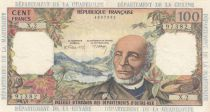 French Antilles 100 Francs Victor Schoelcher - ND (1964) - Serial X.2 - VF - P.10b