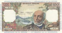 French Antilles 100 Francs Victor Schoelcher - ND 1964 Serial F.3