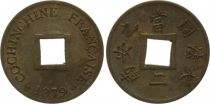 French Cochin-China 2 Sapèques French Cochin-China - 1879