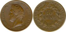 French Colonies 10 Centimes Louis-Philippe I - 1839 A Paris