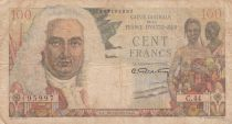 French Equatorial Africa 100 Francs - 1947 - Serial C.44 - P.24