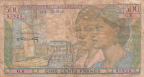 French Equatorial Africa 500 Francs - 1946 - Serial G.6 - P.25