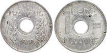 French Indo-China 1 Cent - Etat Francais - 1943 -VF - KM.26