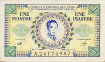 French Indo-China 1 Piastre Bao Dai - Viet Nam issue - VF