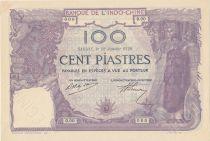 French Indo-China 100 Piastres Saigon - Specimen 92 Janvier 9120 (1920) - AU - P.42s