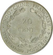 French Indo-China 20 Centimes 1937 - AU
