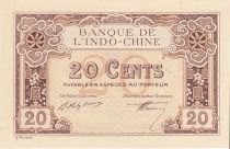 French Indo-China 20 Cents - 1919 - Proof - a.UNC  - P .44