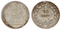 French Indo-China 20 Cents Liberty Seated - Indo-China 1902 A Paris