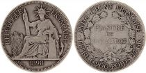 French Indo-China French Indo-China 1 Piastre Liberté assise - 1898 A