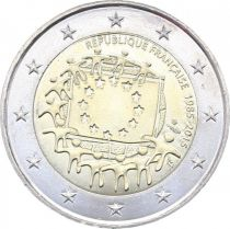 French Mint 2 Euro 30 years of European Flag - 2015