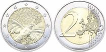 French Mint 2 Euro 70 years of Peace in Europa - 2015