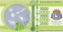 French Southern Territories 2000 Francs Tromelin island,  Squale, Boat - 2018 - Fantaisy