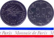 Gabon 50 Francs - 1976 - Essai