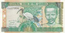 Gambia 10 Dalasis Sacred Ibis, Young Boy - 2001