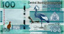 Gambia 100 Dalasis Birds - 2019 - UNC