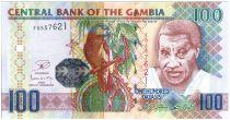 Gambia 100 Dalasis Senegal Parrot, Old Man - ND(2013)