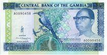 Gambia 25 Dalasis  - D. Kairaba Jawara  - (1991-95)