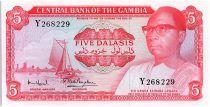 Gambia 5 Dalasis  -  D Kairaba Jawara -  (1972-86)