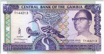 Gambia 50 Dalasis  - D. Kairaba Jawara  - (1989-95)