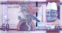 Gambia 50 Dalasis Bird - Dr Alh Yahya J. J. Jammeh - 2015