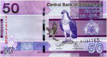 Gambia 50 Dalasis Birds - 2019 - UNC