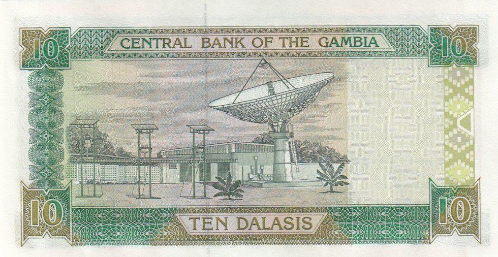 Gambie 10 Dalasis Ibis sacré, Jeune garçon - 2001