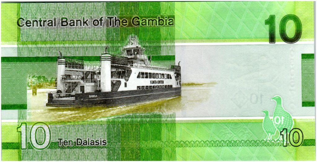 Gambie 10 Dalasis Oiseau - 2019 - Neuf