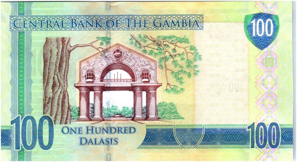 Gambie 100 Dalasis Oiseau - Dr Alh Yahya J. J. Jammeh - 2015