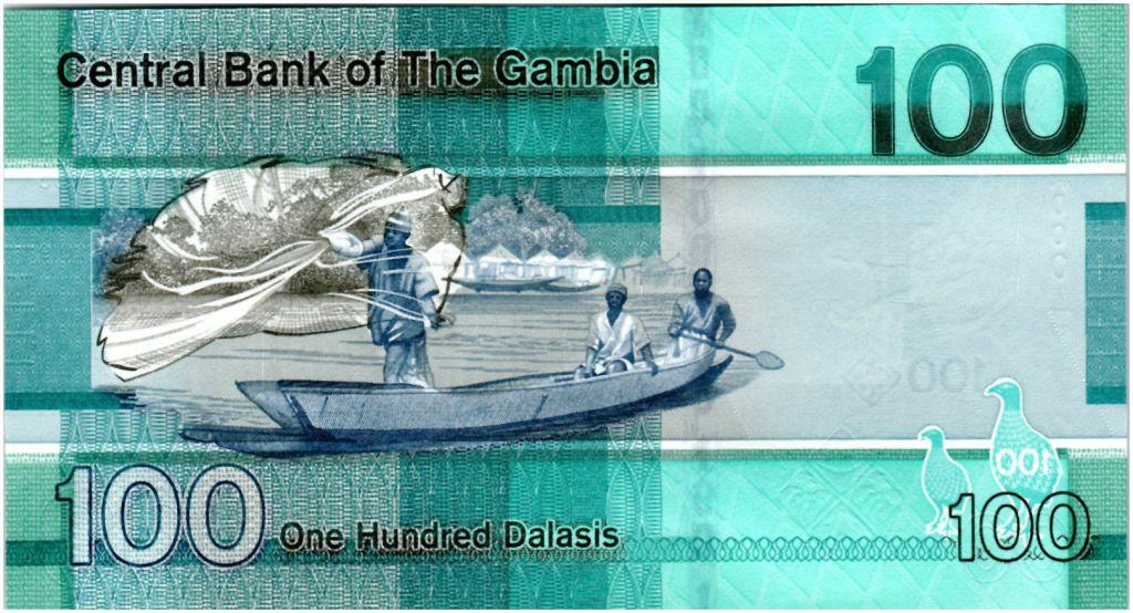Gambie 100 Dalasis Oiseaux - 2019 - Neuf