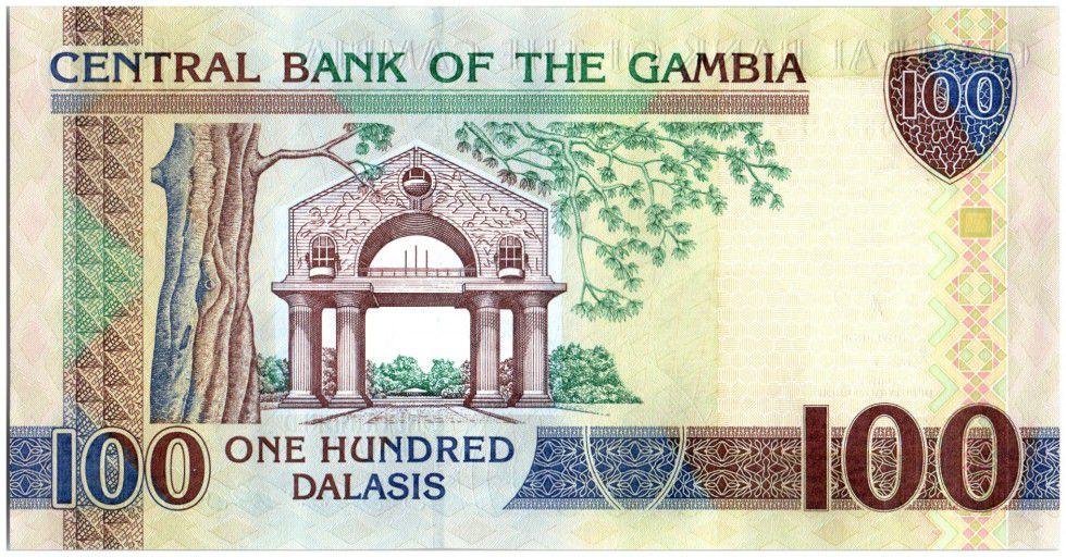 Gambie 100 Dalasis Perroquet, Homme - ND(2013)