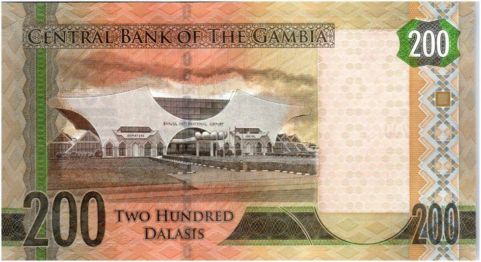 Gambie 200 Dalasis Oiseau - Dr Alh Yahya J. J. Jammeh - 2015