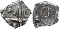 Gaul Drachme, Volcae Tectosages - Drachm Cubist head - 10 e ex