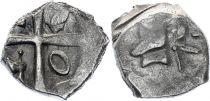 Gaul Drachme, Volcae Tectosages - Drachm Cubist head - 12 e ex