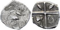 Gaul Drachme, Volcae Tectosages - Drachm Cubist head - 17 e ex