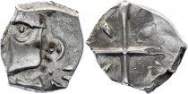 Gaul Drachme, Volcae Tectosages - Drachm Cubist head - 19 e ex