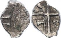 Gaul Drachme, Volcae Tectosages - Drachm Cubist head - 4 e ex