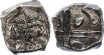 Gaul Drachme, Volcae Tectosages - Drachm Cubist head - 6 e ex