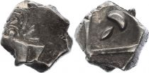 Gaul Drachme, Volcae Tectosages - Drachm Cubist head - 7 e ex